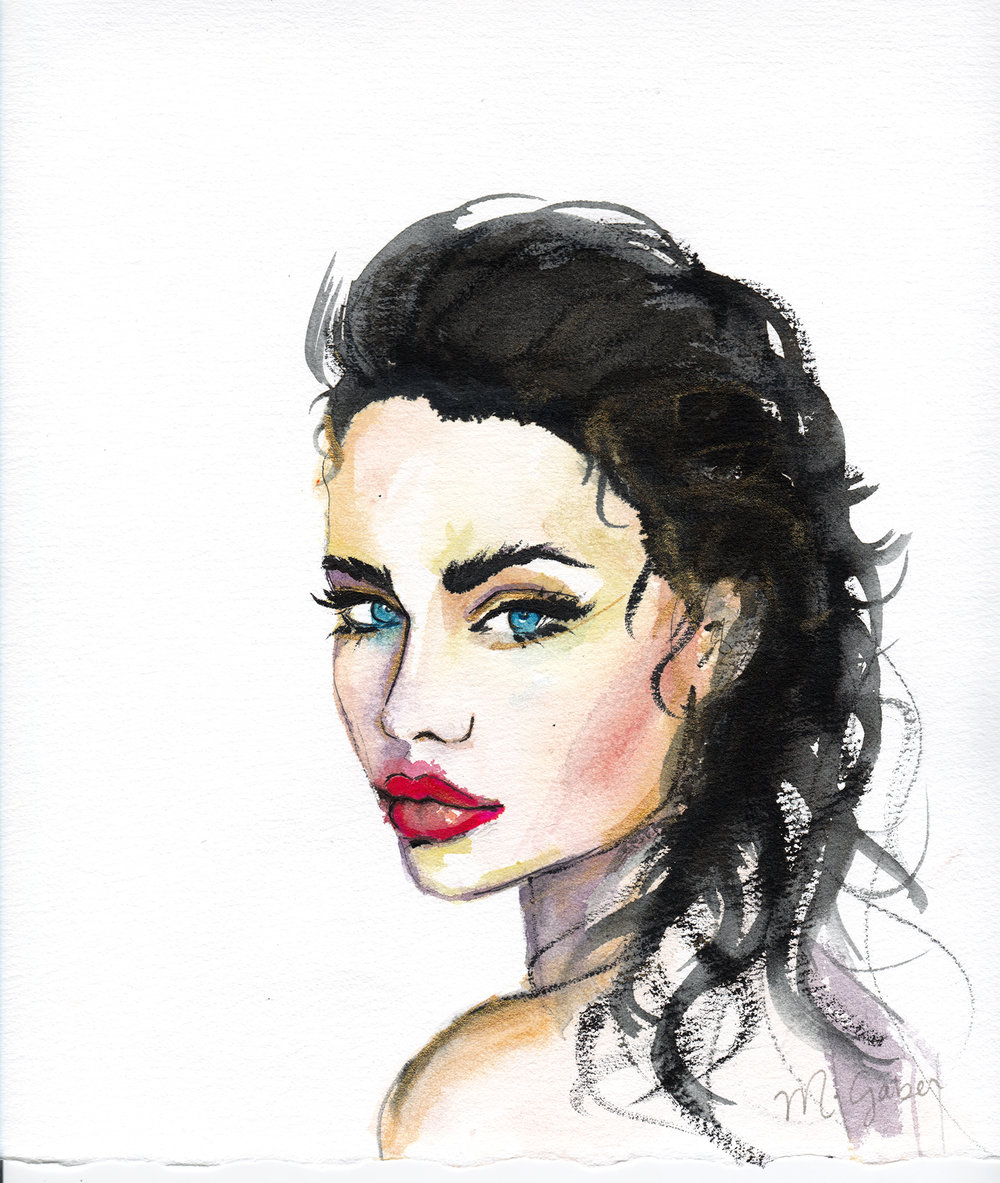 Maryam Gaber-Portrait-Watercolor-Queen-2016 6-1500.jpg