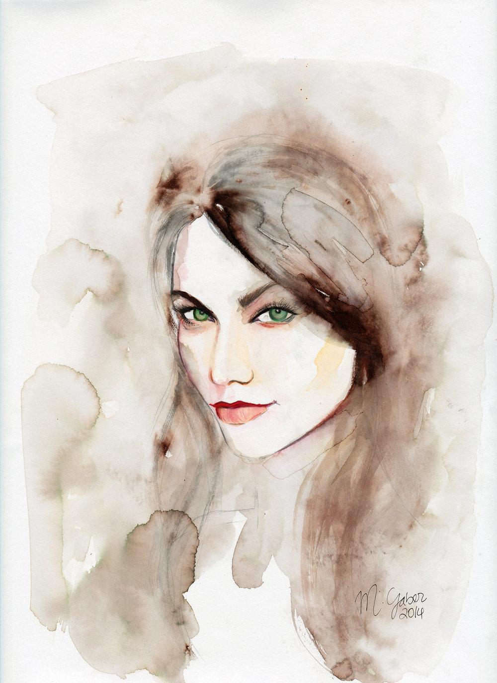 Maryam Gaber-InkPortrait-04 greeneyes-2014-1500.jpg