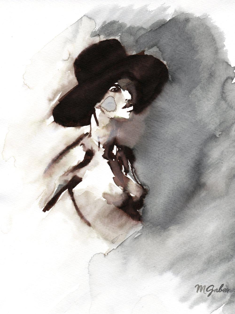Maryam Gaber-InkPortrait-05 hat-2014-1500.jpg