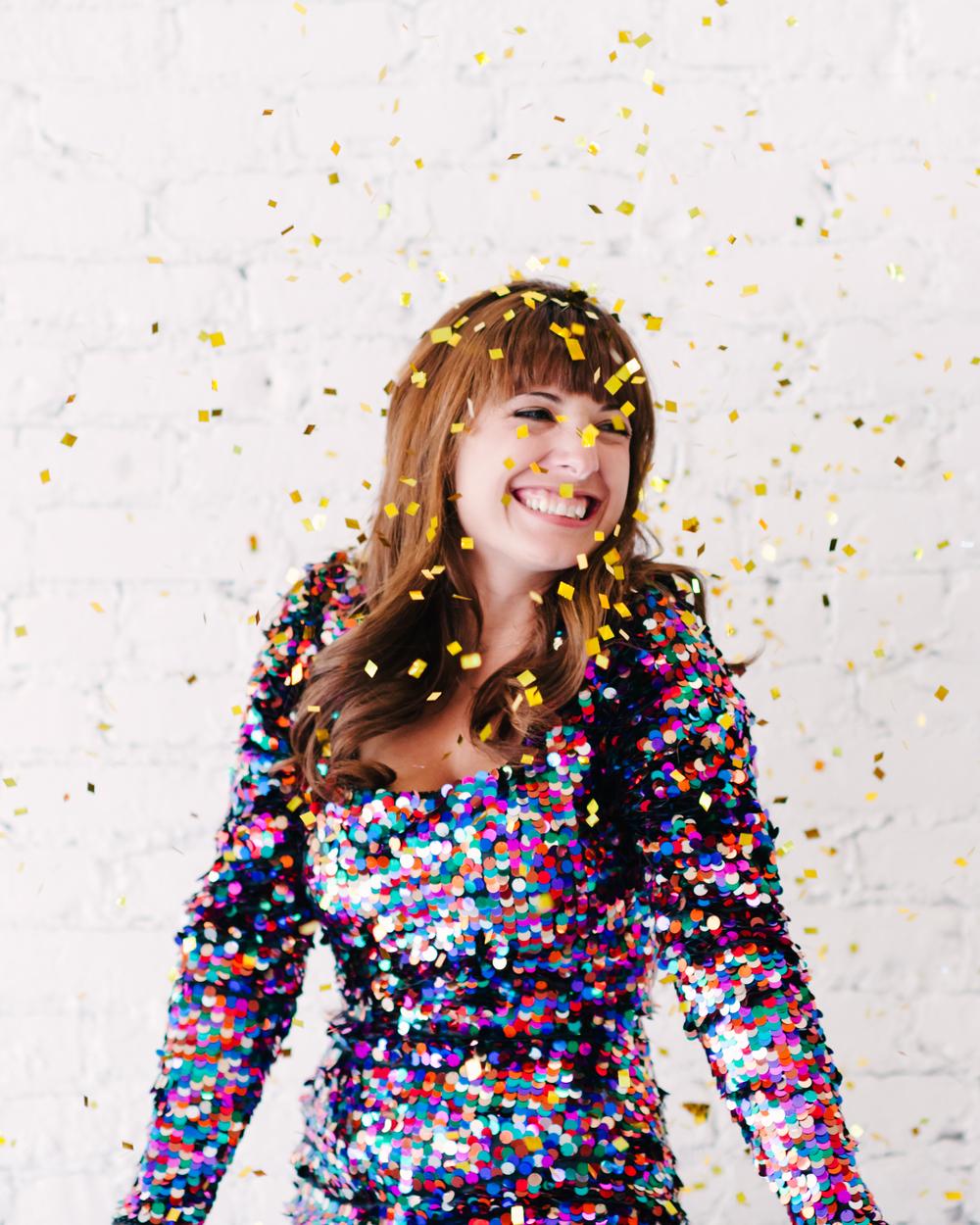 Dayton's Confetti by AndreaDozier.com
