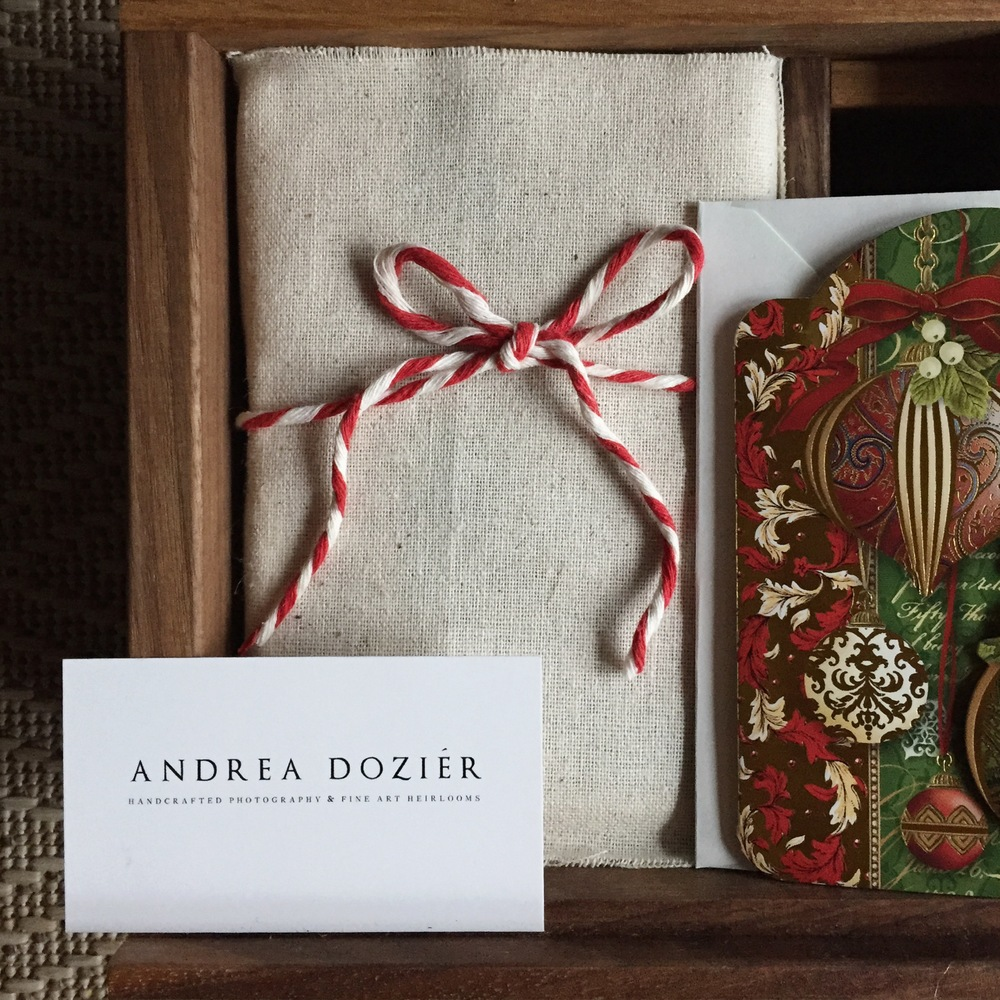 AndreaDozier.com Heirloom Wedding Products & Packaging
