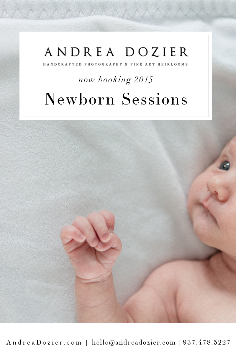 Newborn Photographer in Dayton, Ohio | AndreaDozier.com