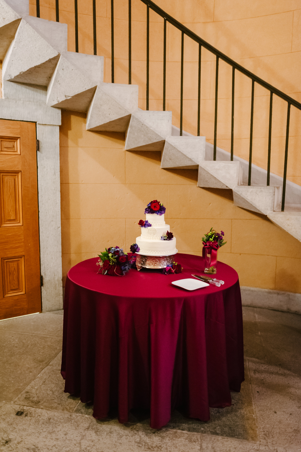 Old Courthouse Wedding Classic Wedding Photography by Andrea Dozier in Dayton, Ohio