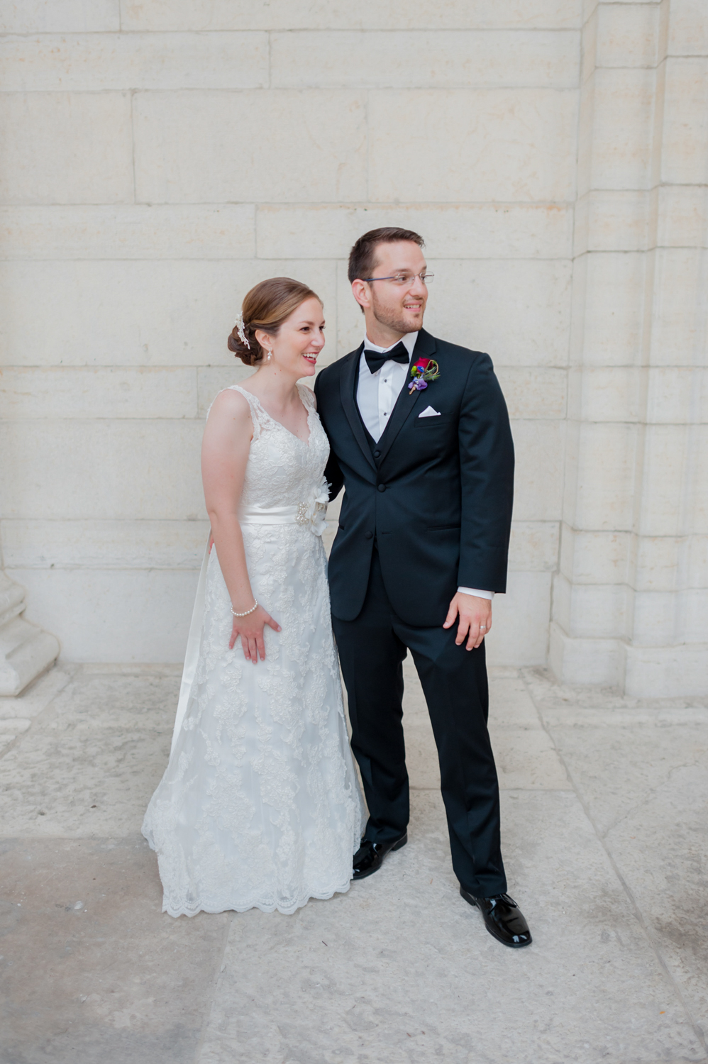 Old Courthouse Wedding by Andrea Dozier in Dayton, Ohio