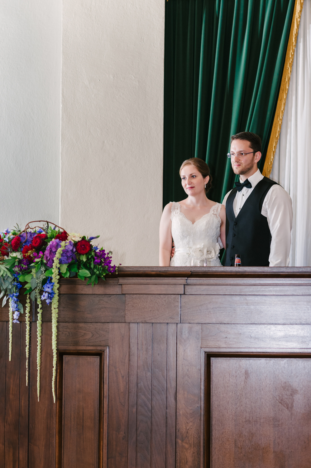 Dayton Old Courthouse Reception by Andrea Dozier Photography