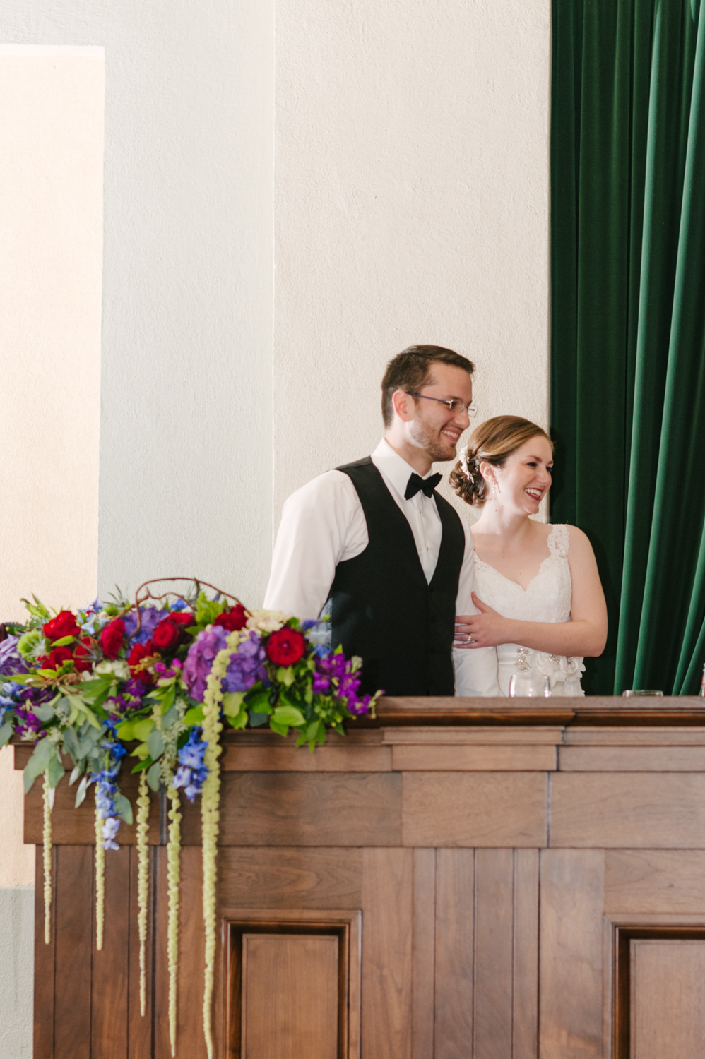 Dayton Old Courthouse Wedding Reception by Andrea Dozier Photography
