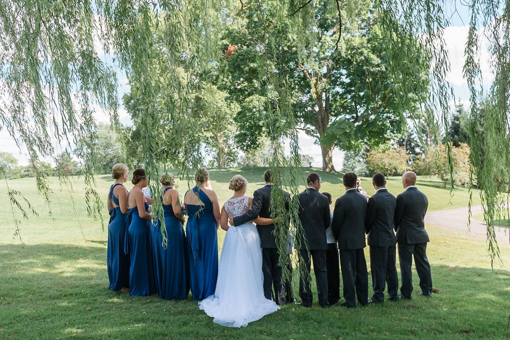 Miami Valley Golf Club Wedding by AndreaBelleStudios.com