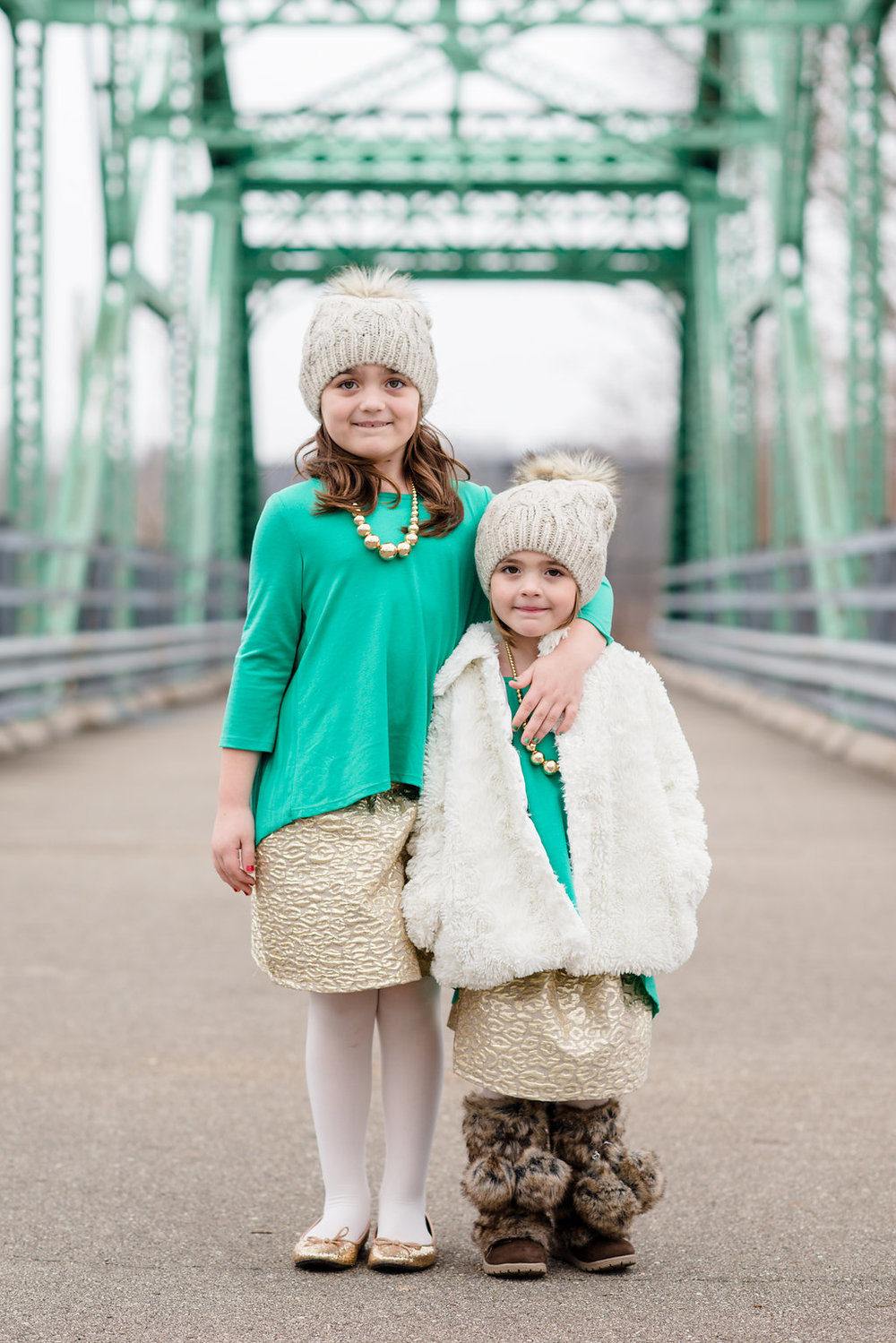 Christmas Portrait Sessions | AndreaBelleStudios.com