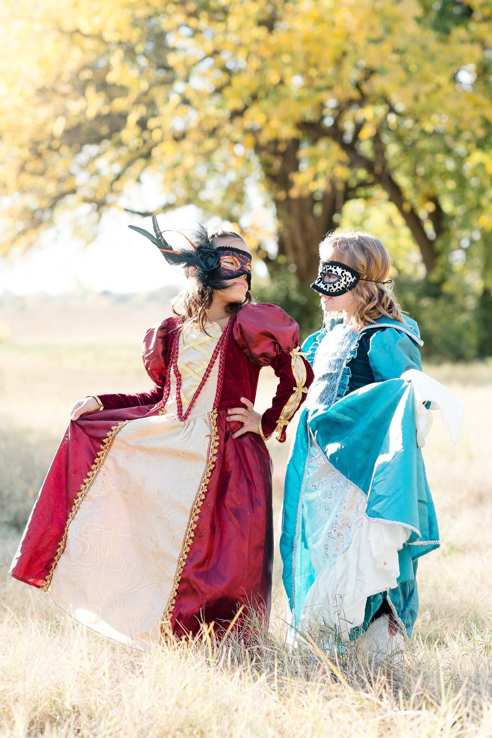 Masked Costume Portraits in Dayton by AndreaBelleStudios.com