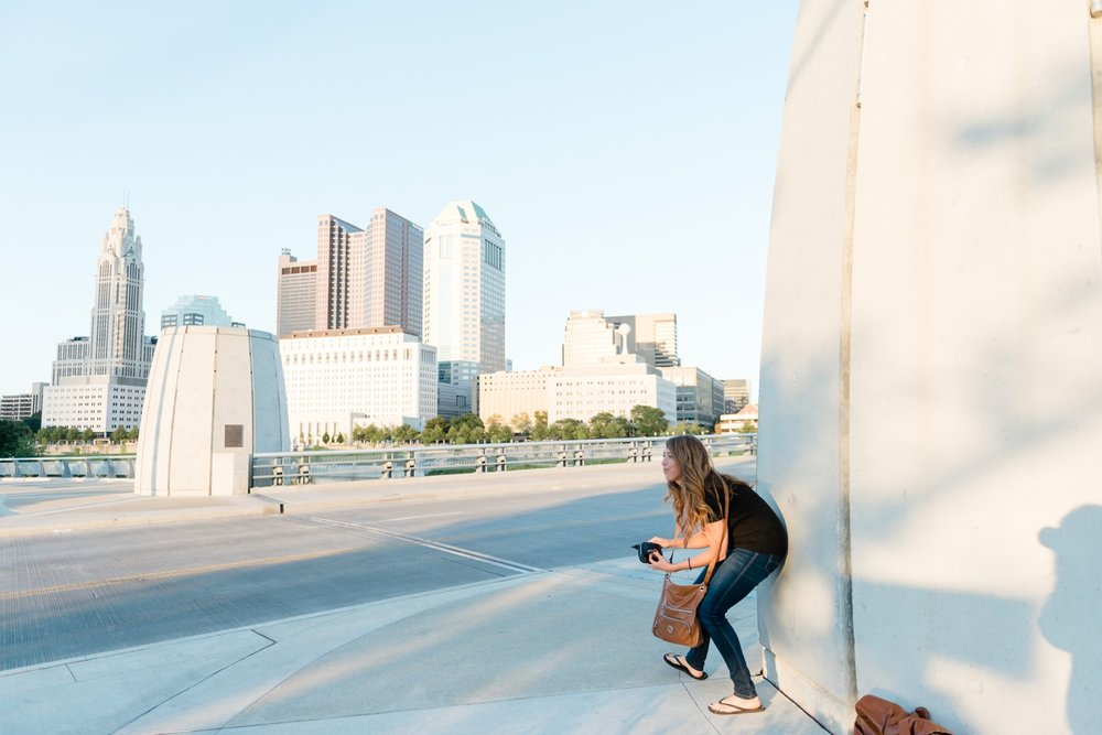 Columbus Ohio Proposal at Rich Street Bridge