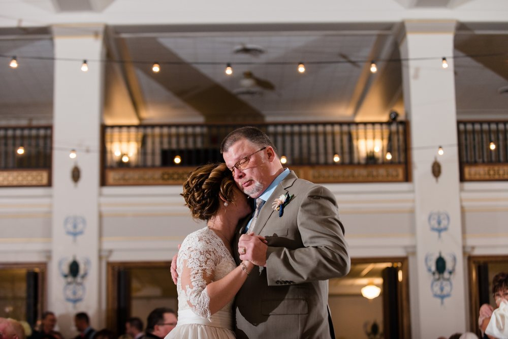 Wedding at Dayton Masonic Center Wedding and Reception AndreaBelleStudios.com