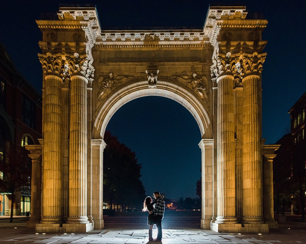 Columbus City Engagement Session Photographer | AndreaBelleStudios.com