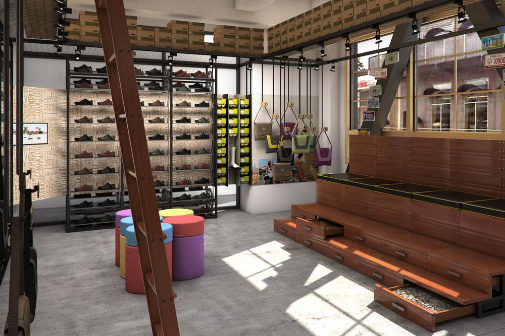 KEEN Footwear Garage