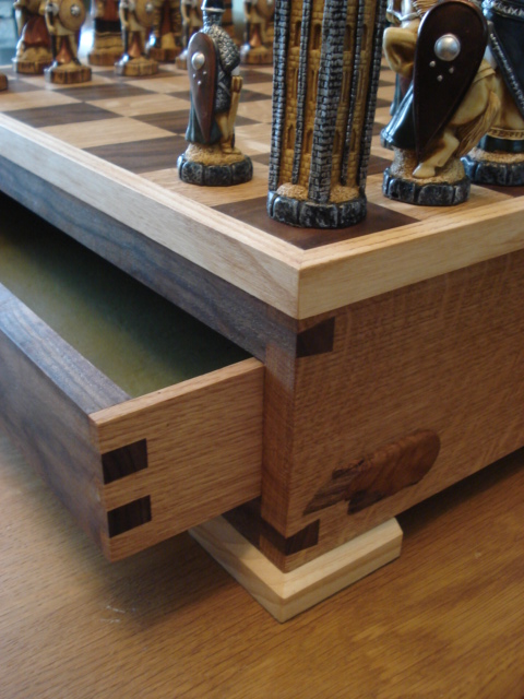 Chess case joinery