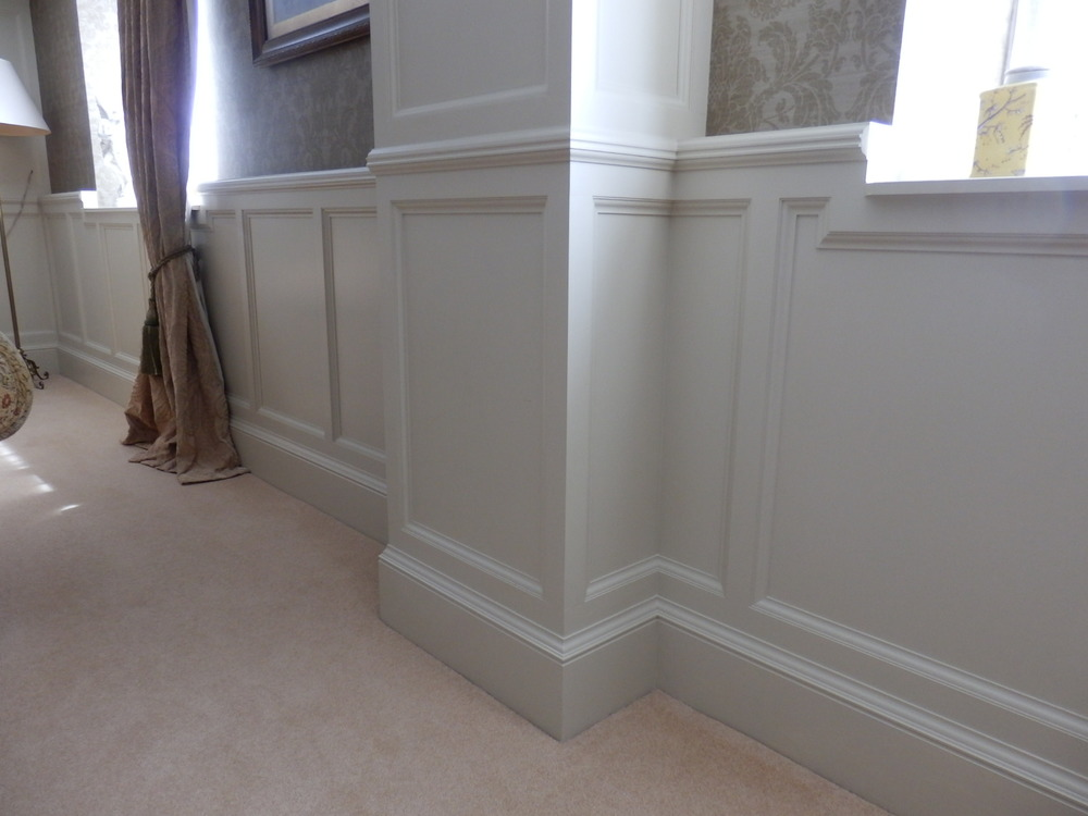 Panelling a room