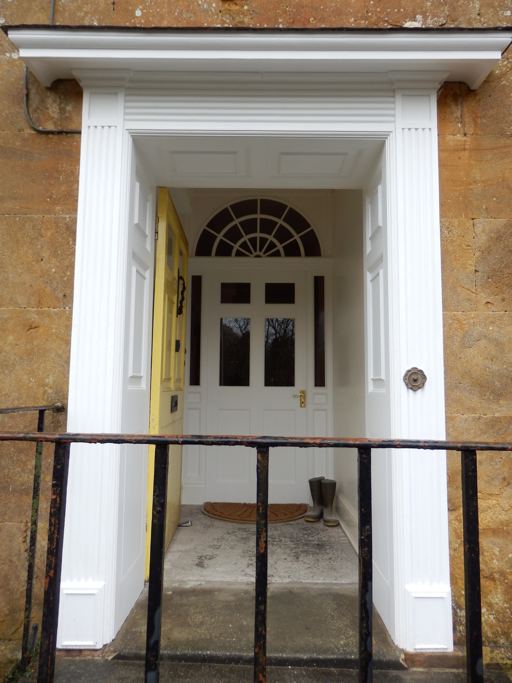 Restoration of a Georgian townhouse entrance