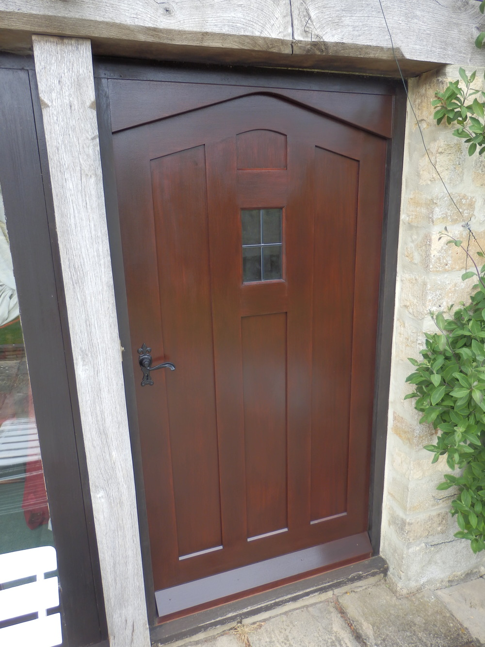 Sapele front door