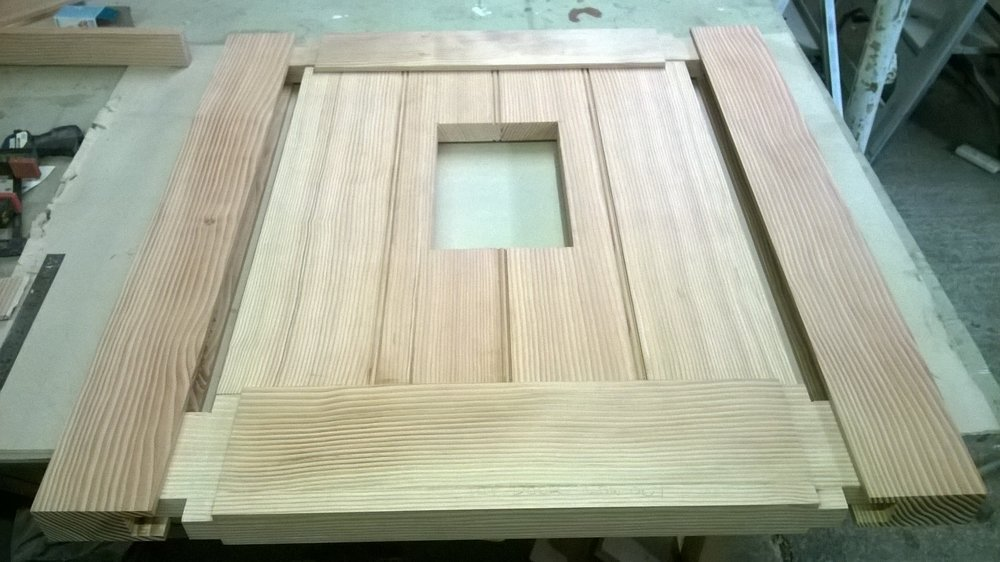 Stable door joinery