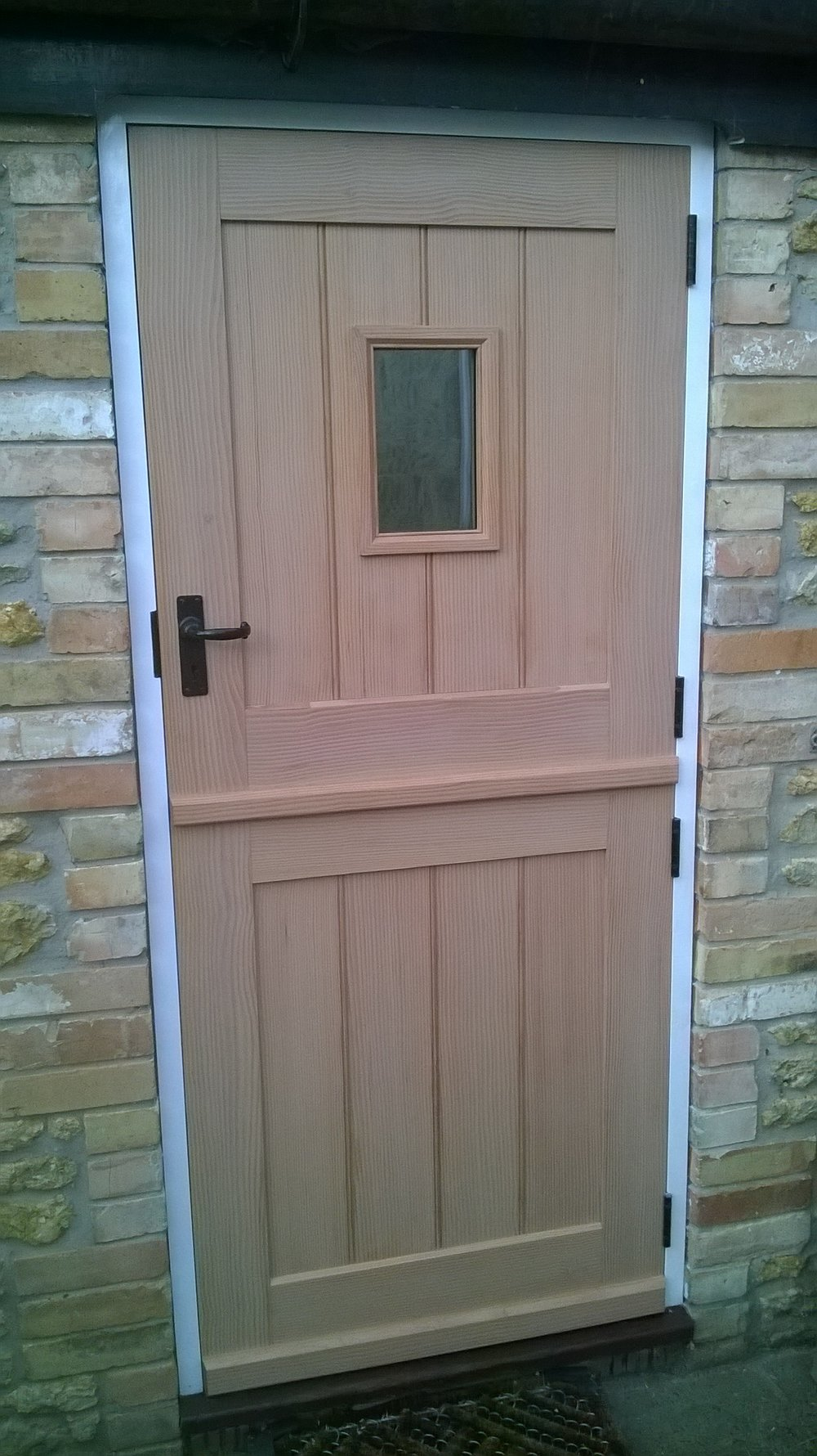 Douglas fir stable door