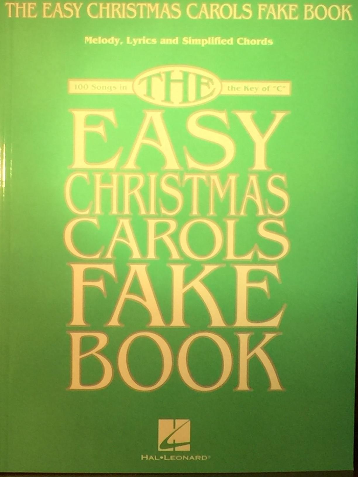 bda87ae4d5f9 The Easy Christmas Carols Fake Book — The Music Center