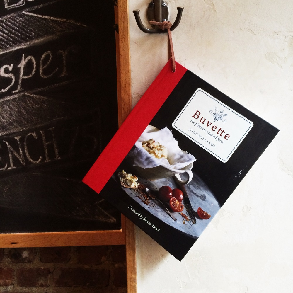 Buvette Custom cookbook