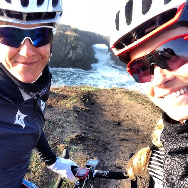 Olivia and I on our Coast Ride adventure!
