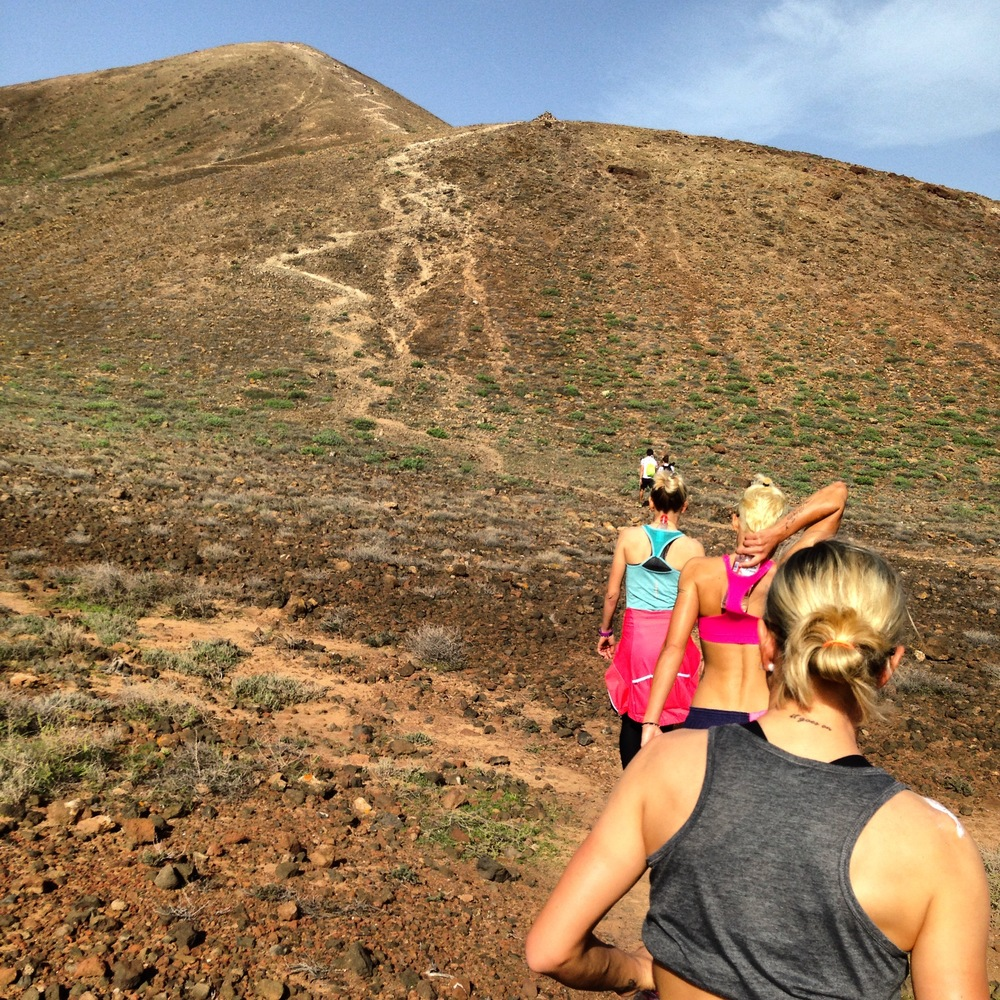 On our recovery day we went for a hike up the Volcano closest to our resort.  It was beautiful!
