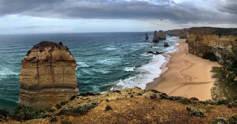The 12 apostles, but only 7 are left!
