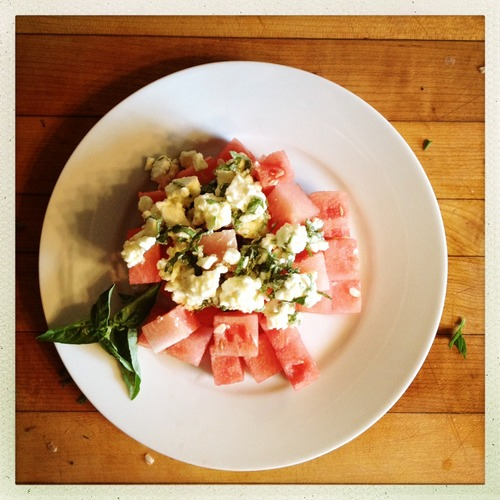 WatermelonBasilSalad