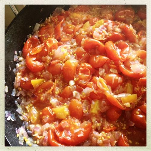 TomatoPeachChutneyCooking