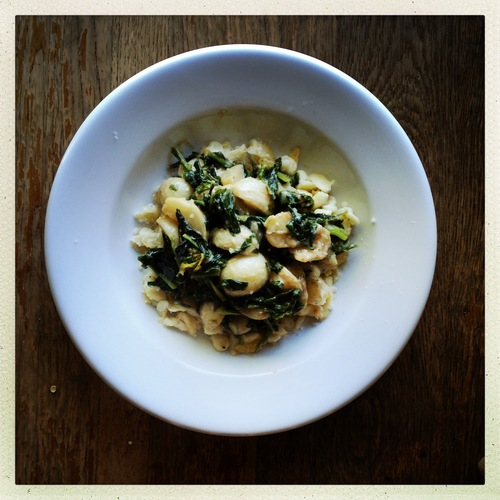 Browned Salad Turnips and Greens with Miso-Butter