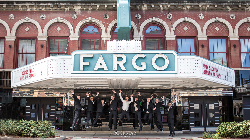 Jump Shot @ The Fargo Theater! RockStar Weddings Photography