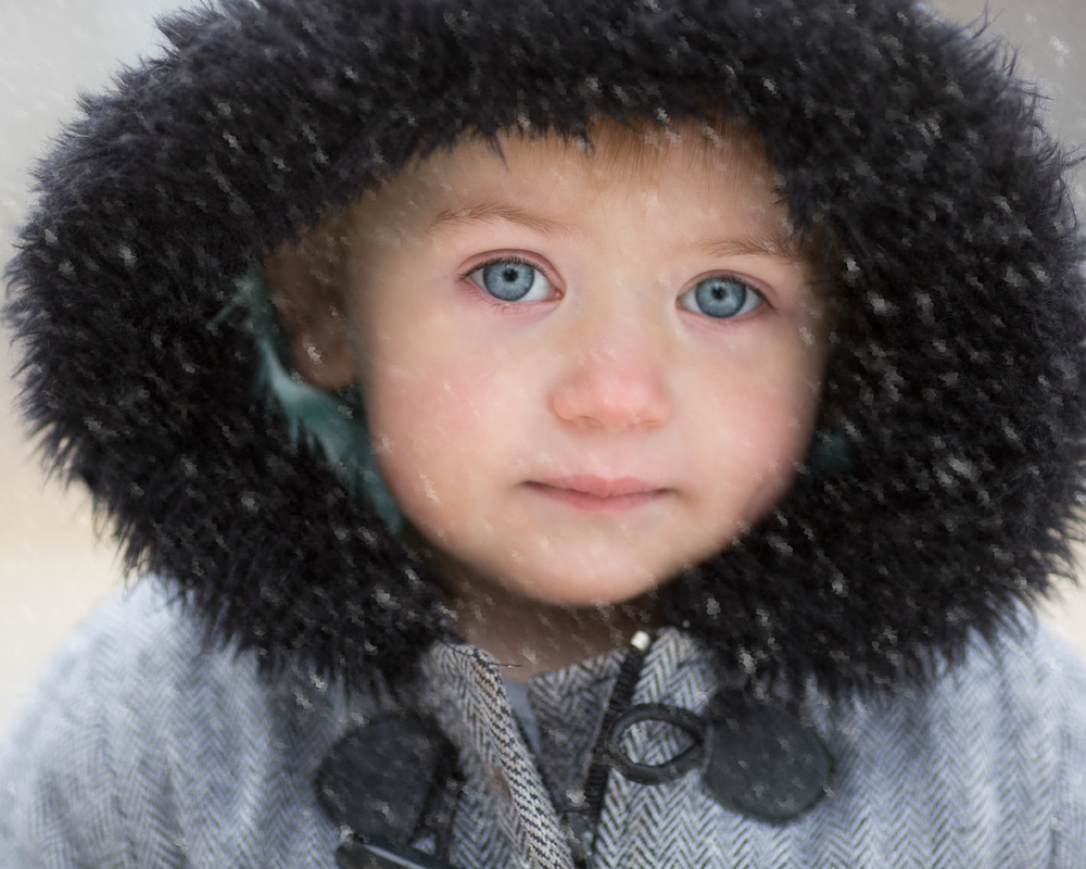 SnowAngel-ThePhotoDad-Fargo, ND Child Photography