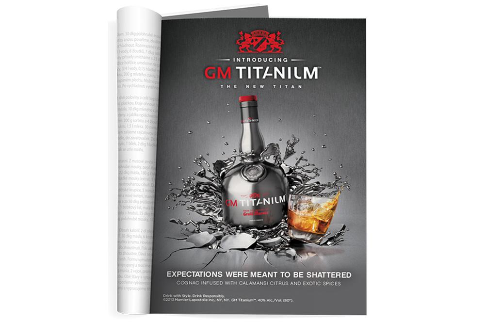 Titanium advertisement