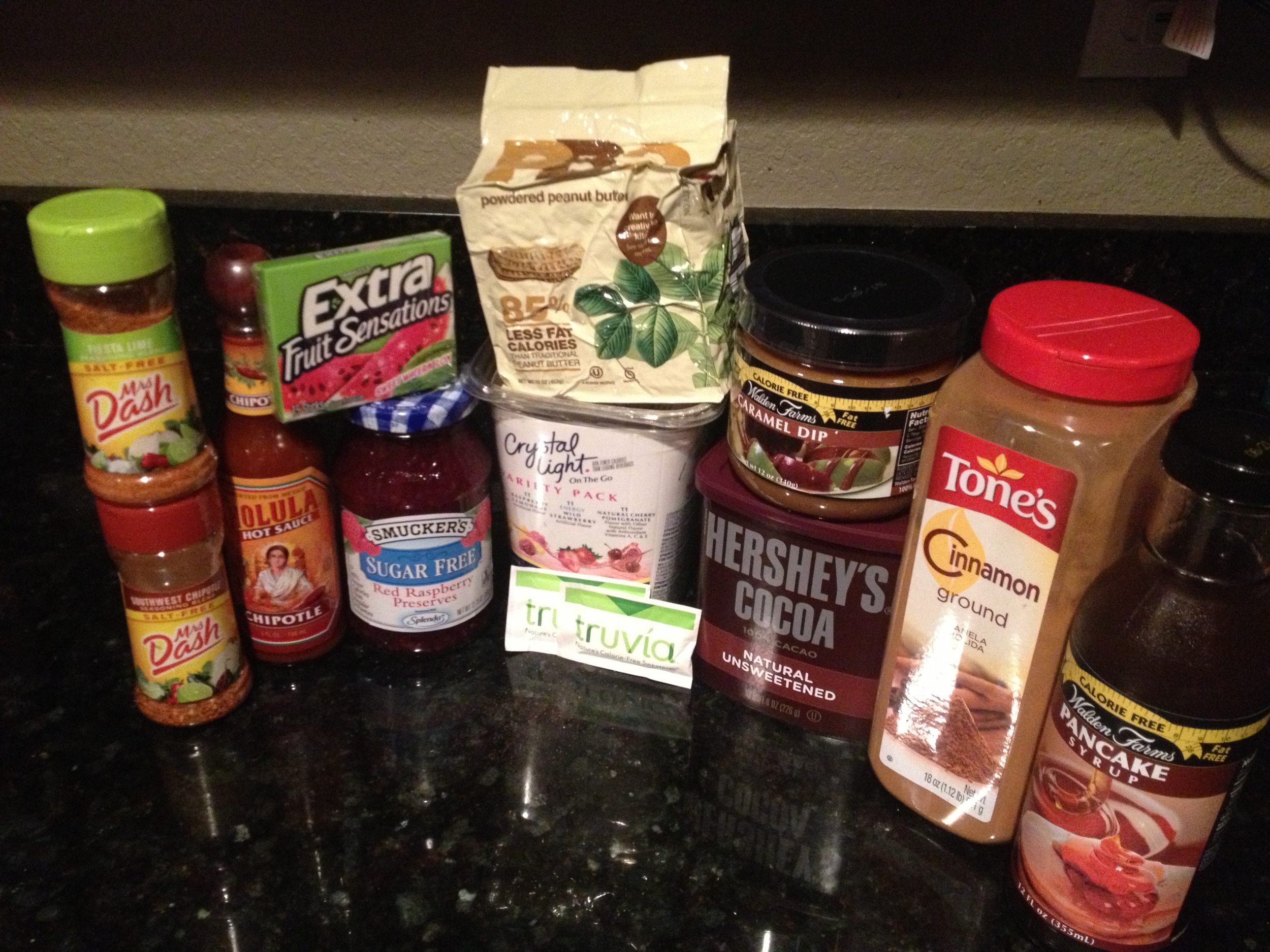 A few miscellaneous goodies that help me stick to eating clean. Feed the taste buds!