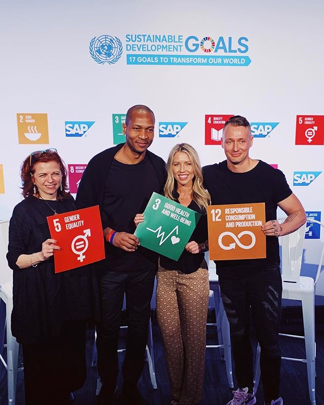 It was an honor to speak on my first #SXSW panel with these brilliant minds on behalf of the @unitednations Sustainable Development Goals @sdgmediazone.  We discussed health concerns and proposed solutions for our youth as we move deeper into the 21st century. At the forefront were mental health and preventive wellness.  After the widespread Instagram malfunction yesterday, we can easily see how important it is to not rely so heavily on social media—as a main source of validation, human interaction, and/or income.  We live in a day and age where information, innovation, and ideas can spread like wildfire at the simple press of a button. It can be a beautiful thing. I freaking love being able to connect and support one another {insert peace sign runs here} even from across the world.  But let's not forget real life. I struggle with the balance myself. But if Instagram goes up in flames tomorrow, let's make sure we've cultivated our own community and support system. And most importantly, nourish + love ourselves! At the end of the day, we all just want to be seen, accepted and loved.  Spread that love, baby ❤️✨🌏✌🏽 What's everyone getting into this weekend for #sxsw music? I want to join the fun!  #bethechange #sxsw2019 #unitednations #sustainabledevelopmentgoals #SDGMediaZone #goodhealthandwellbeing #onelove #doitforyou #livoutloud #prevention #wellness #mindfulness