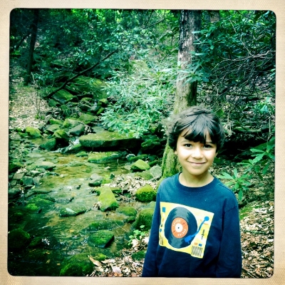 We took a hike in the North Georgia Mountains.
