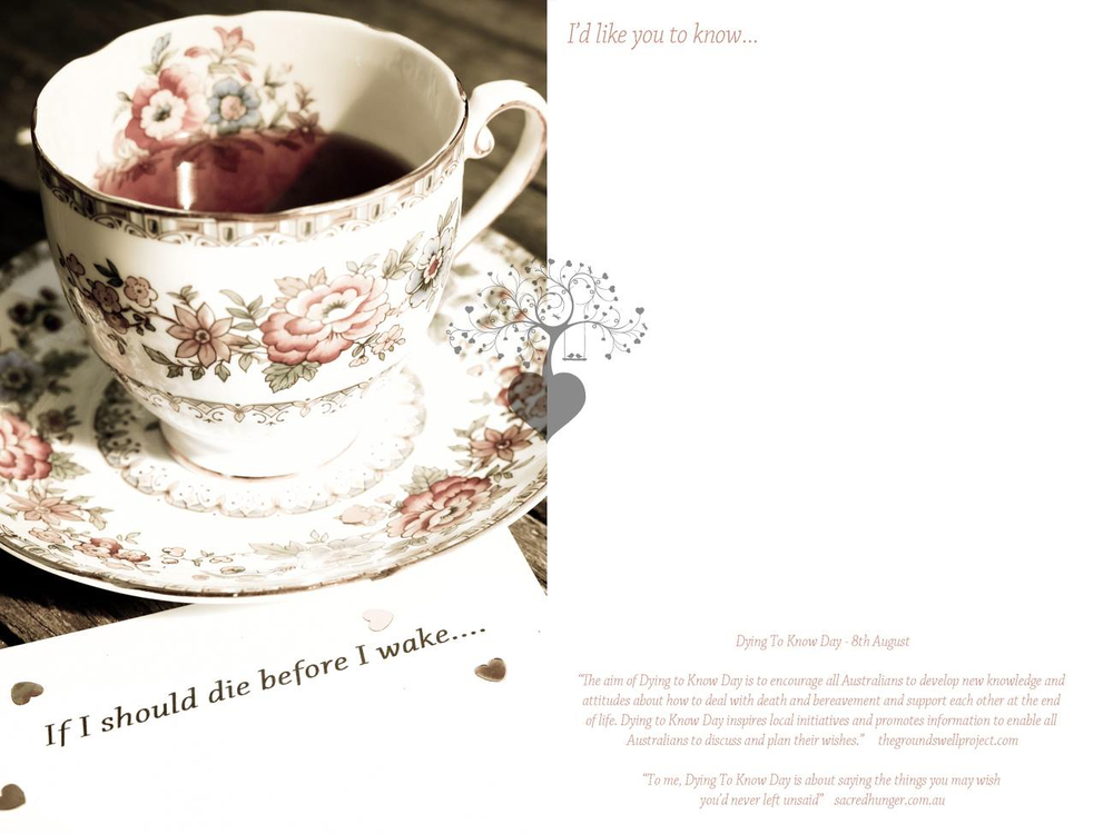 Front and back cover of the cards