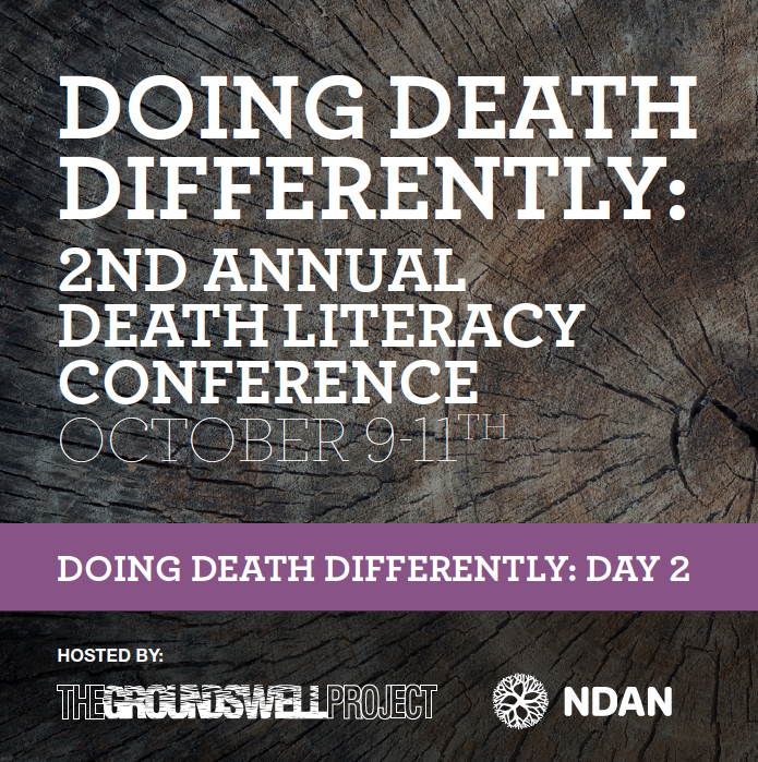 Day 2: Doing Death Differently