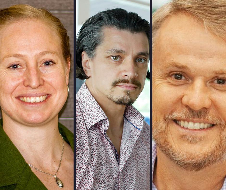 Dr Claire Hepper , Dr John Endacott, Dr John Rosenberg.   Shannon's Bridge Booklet