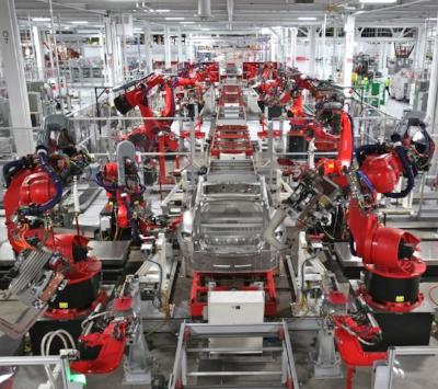 Tesla Factory, Fremont CA