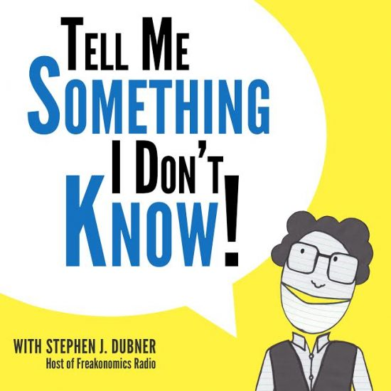 Fact-telling game show hosted by Stephen Dubner