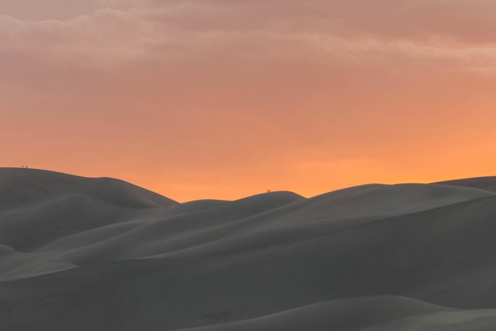 Great Sand Dunes National Park Sunset