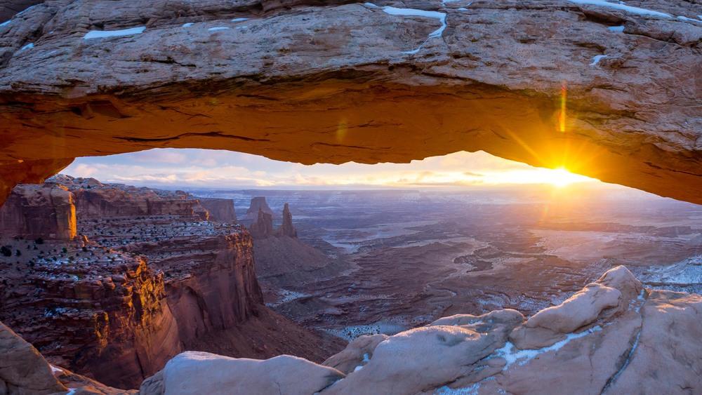Canyonlands Mesa Arch Sunrise