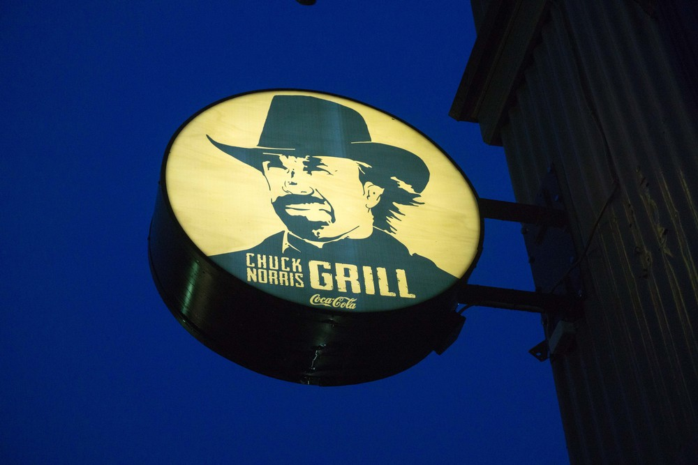 Chuck Norris Grill  Reykavik