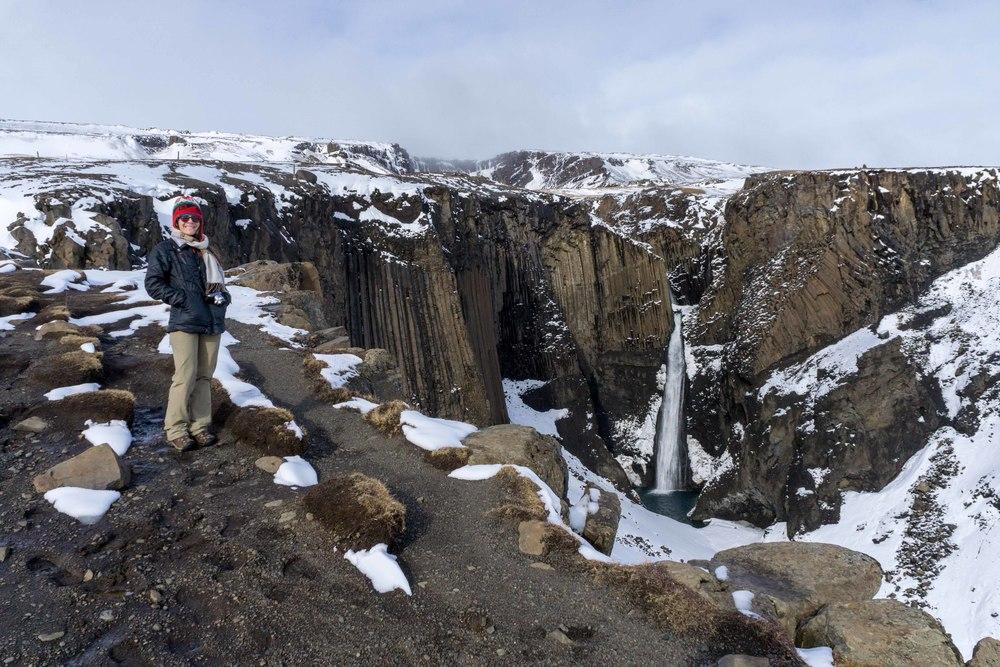 LITLANESFOSS Waterfall Iceland