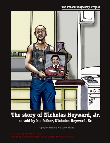 Cover of the graphic retelling of the Nicholas Heyward story.