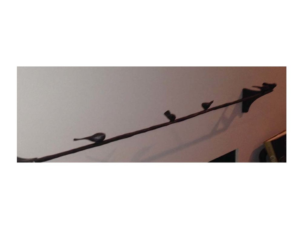 Birds on a Wire Detail 1