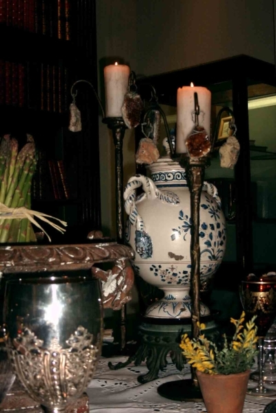 TUSCAN NIGHTS CANDLE STICKS