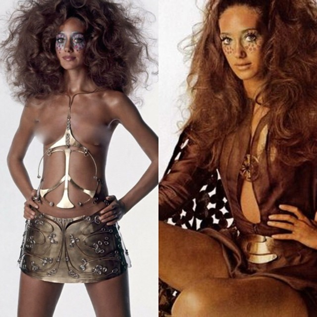 Feeling a little fiery and fierce today…    #30daysofmarisaberenson   #caftanchic